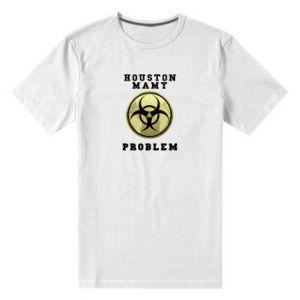 Men's premium t-shirt Houston we have a problem