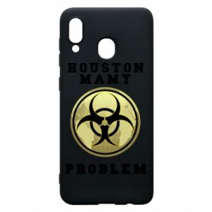 Phone case for Samsung A20 Houston we have a problem