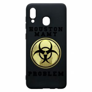 Phone case for Samsung A30 Houston we have a problem