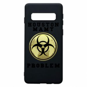 Phone case for Samsung S10 Houston we have a problem