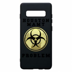 Phone case for Samsung S10+ Houston we have a problem