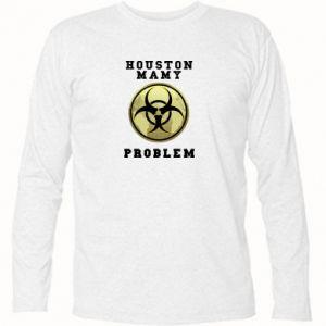 Koszulka z długim rękawem Houston mamy problem
