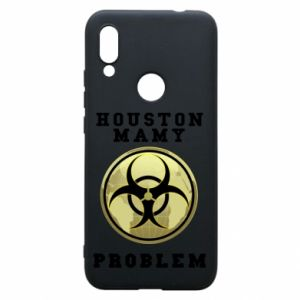 Phone case for Xiaomi Redmi 7 Houston we have a problem