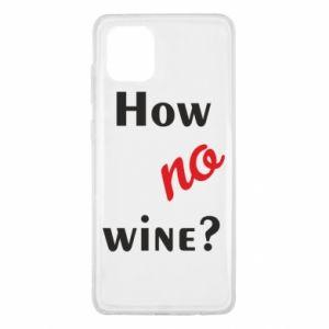 Etui na Samsung Note 10 Lite How no wine?