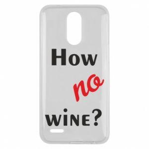 Etui na Lg K10 2017 How no wine?