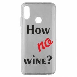 Etui na Huawei Honor 10 Lite How no wine?