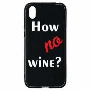Etui na Huawei Y5 2019 How no wine?