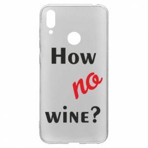 Etui na Huawei Y7 2019 How no wine?