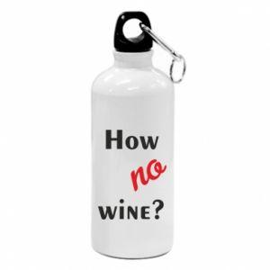 Bidon turystyczny How no wine?