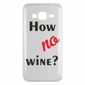 Etui na Samsung J3 2016 How no wine?