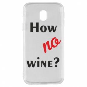 Etui na Samsung J3 2017 How no wine?