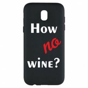 Etui na Samsung J5 2017 How no wine?