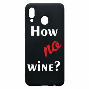 Etui na Samsung A30 How no wine?