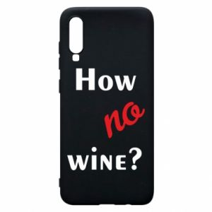 Etui na Samsung A70 How no wine?