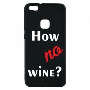 Etui na Huawei P10 Lite How no wine?