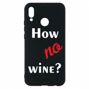 Etui na Huawei P20 Lite How no wine?