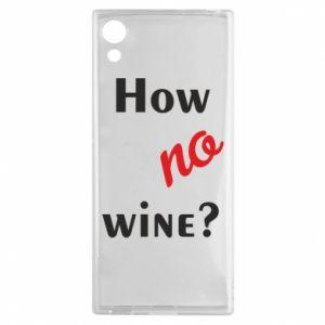 Etui na Sony Xperia XA1 How no wine?