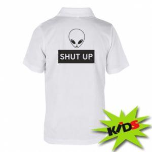 Dziecięca koszulka polo Hsut up Alien