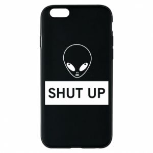 Phone case for iPhone 6/6S Hsut up Alien