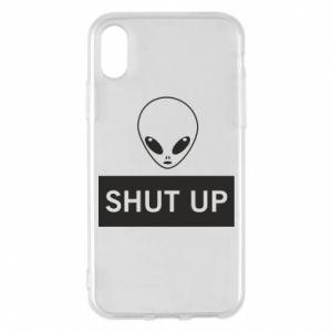 Etui na iPhone X/Xs Hsut up Alien