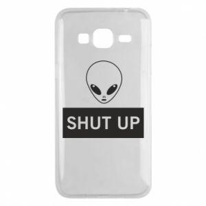 Phone case for Samsung J3 2016 Hsut up Alien