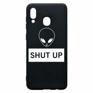 Phone case for Samsung A30 Hsut up Alien