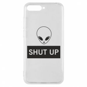 Phone case for Huawei Y6 2018 Hsut up Alien