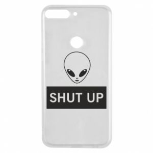 Phone case for Huawei Y7 Prime 2018 Hsut up Alien