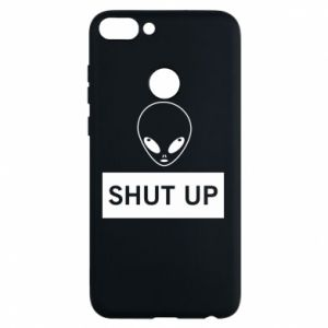 Phone case for Huawei P Smart Hsut up Alien
