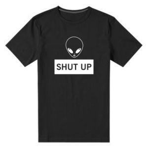 Męska premium koszulka Hsut up Alien