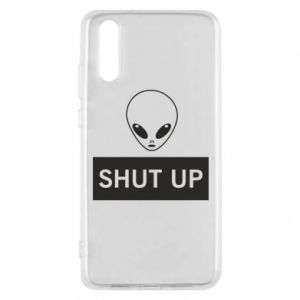 Phone case for Huawei P20 Hsut up Alien