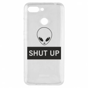 Phone case for Xiaomi Redmi 6 Hsut up Alien