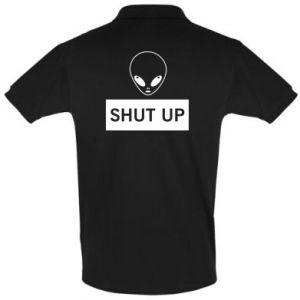 Men's Polo shirt Hsut up Alien