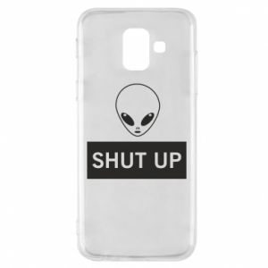 Phone case for Samsung A6 2018 Hsut up Alien