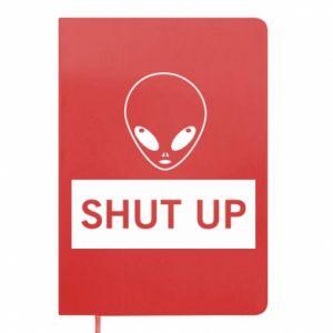 Notepad Hsut up Alien