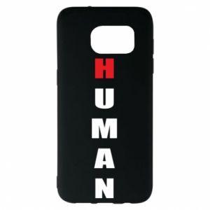 Etui na Samsung S7 EDGE Human