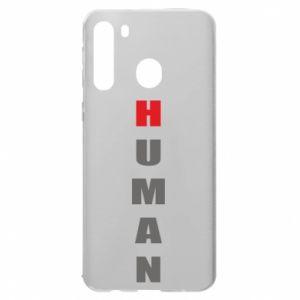 Etui na Samsung A21 Human
