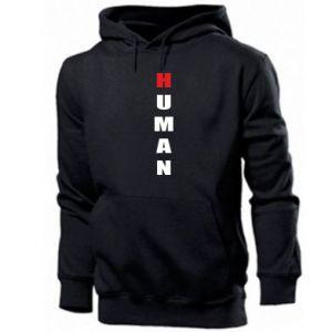 Męska bluza z kapturem Human