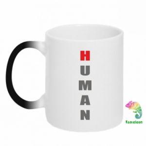 Kubek-kameleon Human