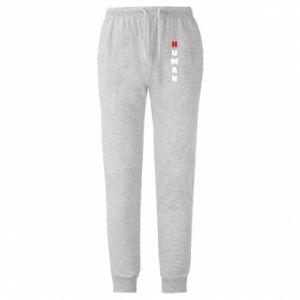 Męskie spodnie lekkie Human