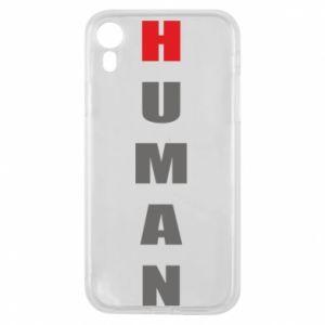 Etui na iPhone XR Human
