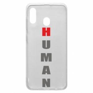 Etui na Samsung A20 Human