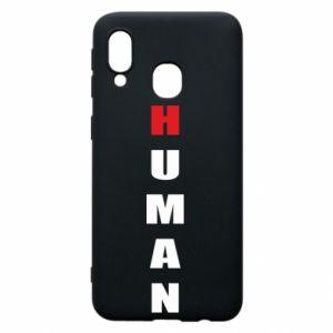 Etui na Samsung A40 Human