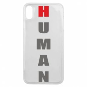 Etui na iPhone Xs Max Human
