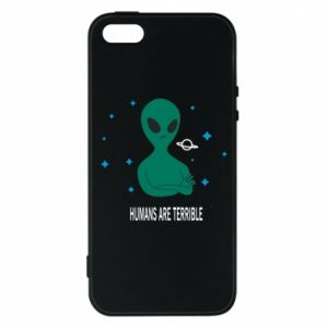 iPhone 5/5S/SE Case Humans are terrible