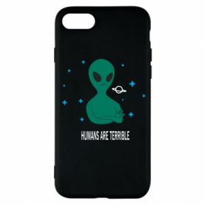 iPhone 7 Case Humans are terrible