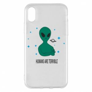 iPhone X/Xs Case Humans are terrible
