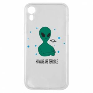iPhone XR Case Humans are terrible