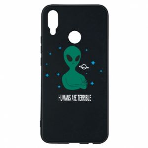 Phone case for Huawei P Smart Plus Humans are terrible