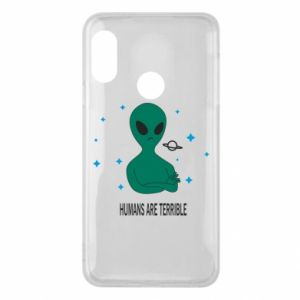 Phone case for Mi A2 Lite Humans are terrible